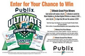 Miami Dolphins / Publix Sweepstakes - Who Said Nothing in Life is Free