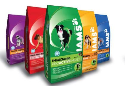Buy any dog or cat food 2 lb bag and get a coupon for a free bag up to