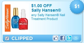 Expired Sally Hansen Coupons