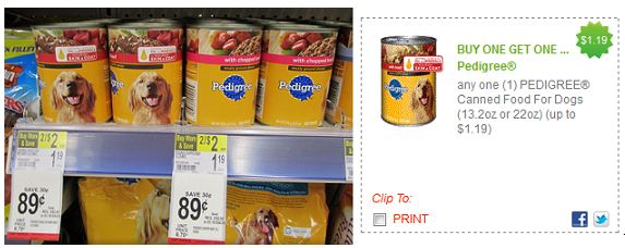 Who Has The Best Price On Pedigree Dog Food Cannedr