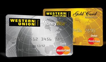 To debit load western union on money how card ussc