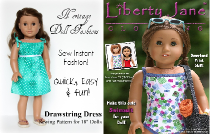 free sewing patterns for american girl dolls who said nothing in
