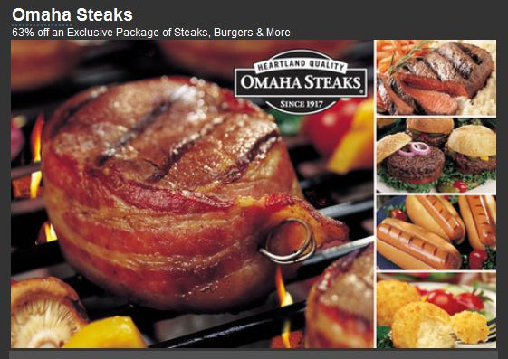 Omaha Steaks Package Deal Who Said Nothing In Life Is