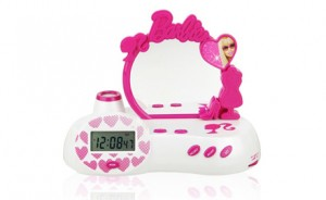 Barbie Fabulous Projection Alarm Clock Who Said Nothing