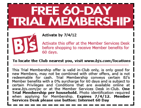 FREE Day Trial Membership BJ's Wholesale Club Disclosure: This post may contain affiliate links that earn me a small commission, at no additional cost to you. As always, I only recommend products I personally use and love, or think my readers will find useful.