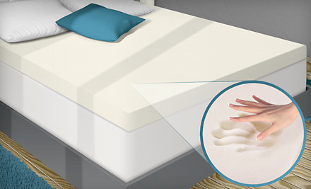 Memory Foam Mattress Topper On Groupon Who Said Nothing