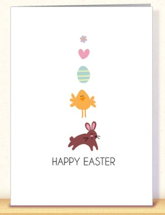 free personalized easter card from card gnome who said nothing in
