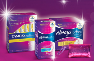 $6 off. $6 off three 11ct or larger Always Infinity or Radiant feminine pad products ($6/3) when you redeem this coupon at Amazon. Expires Dec. 19,