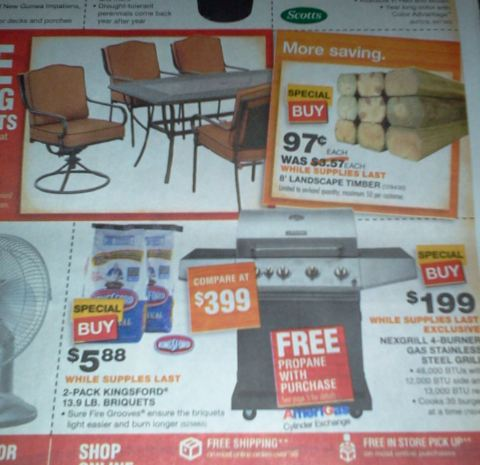 Home Depot - Memorial Day Sale SL: Memorial Day Savings (Star) STARTS NOW
