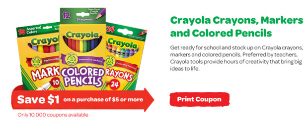 photograph regarding Crayola Printable Coupons titled Crayola Printable Coupon upon Fb - Who Stated Very little within just