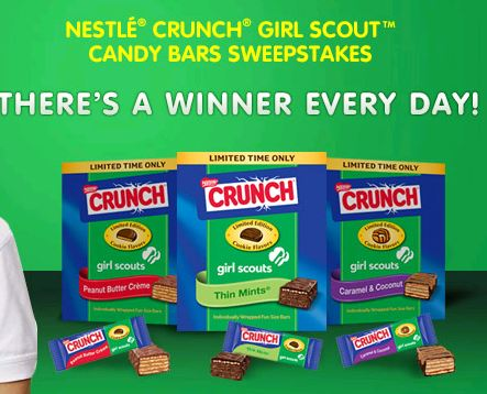 where can i find nestle crunch girl scout candy bars Impulse buy ever - nestle nestle crunch mini girl scout candy bars - bj's wholesale club the wafers give this cookie a light crunch which offsets the.