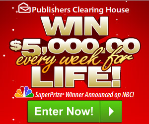 publishers clearing house sweepstakes publishers clearing house