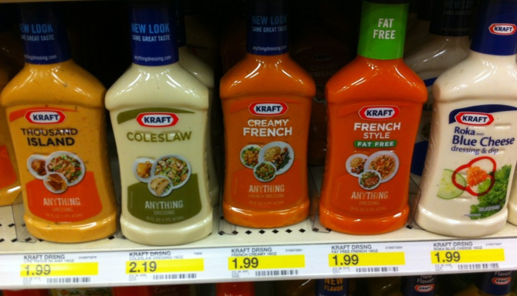 Kraft salad dressing coupon august 2018