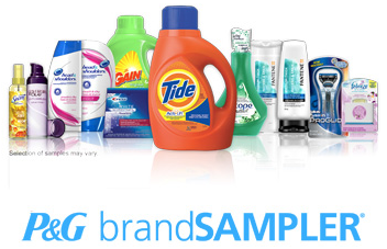 p&g everyday free samples
