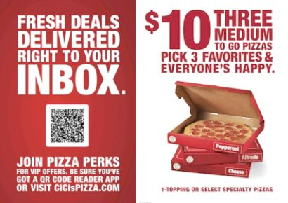 Cici's pizza printable coupons june 2018