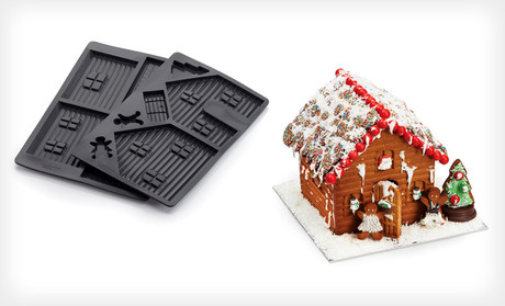 Gingerbread House Silicone Mold Who Said Nothing In Life