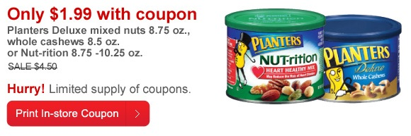 nut coupon