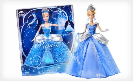 Disney Princess Cinderella 2012 Holiday Doll Who Said