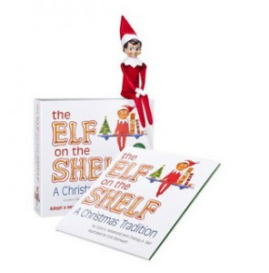 elf on the shelf book and doll who said nothing in life. Black Bedroom Furniture Sets. Home Design Ideas
