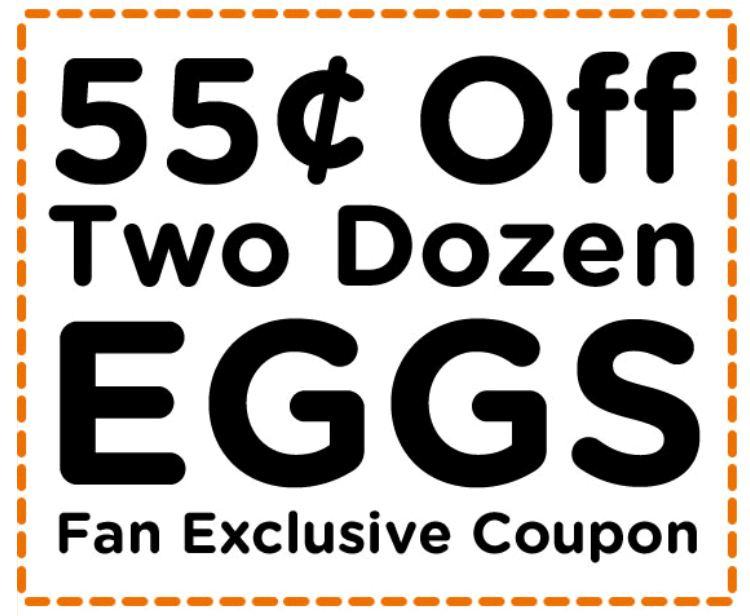 photo about Egg Coupons Printable named One more Printable Egg Coupon - Who Explained Absolutely nothing in just Existence is Totally free?