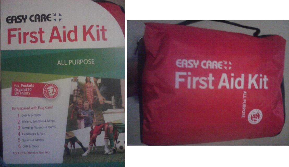 First aid kit essay