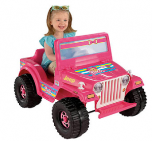 Fisher-Price Power Wheels Barbie Jeep Ride-On (Walmart) - Who Said