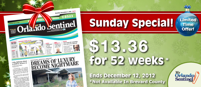 The villages daily sun subscription