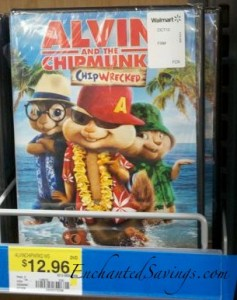 alvin the chipmunks chipwrecked dvd deal at walmart who said