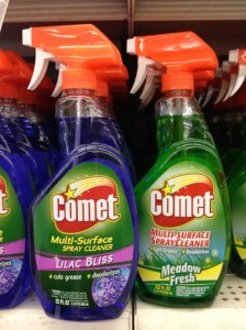 Good Deal On Comet Spray Cleaner At Dollar Tree Who Said Nothing In Life Is Free