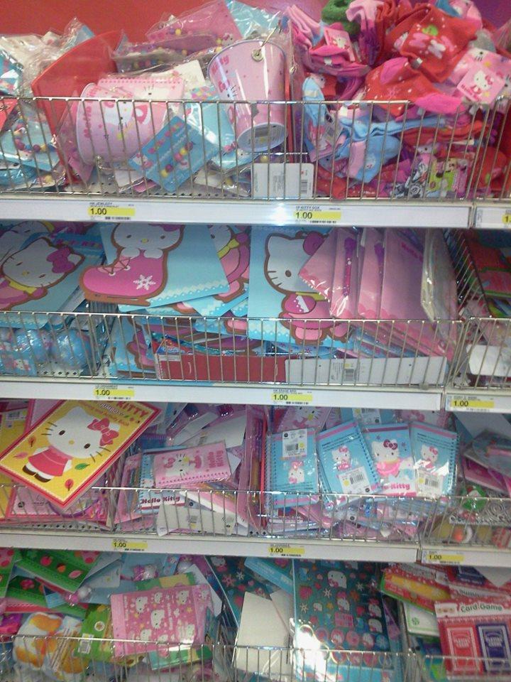 Hello Whello Wgo To Www Bing Com: Hello Kitty Heaven At Target's Dollar Spot
