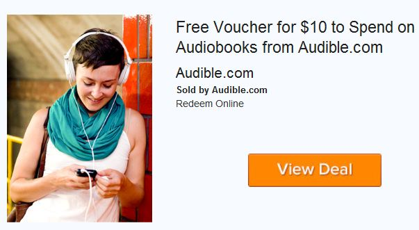 Audible coupon amazon local