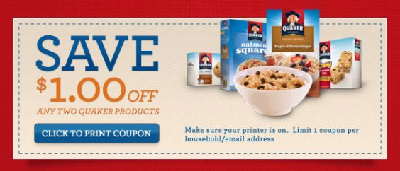 Log your fiber intake daily for the chance to win a $ gift card or Quaker® products!