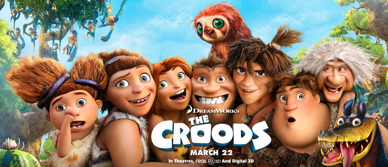 dreamworks animation the croods movie review who said nothing in