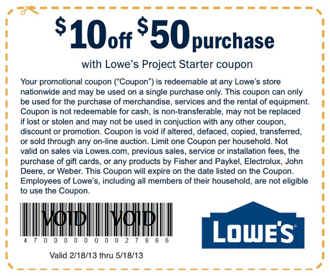Lowes Online Coupon Codes | 2017 - 2018 Best Cars Reviews