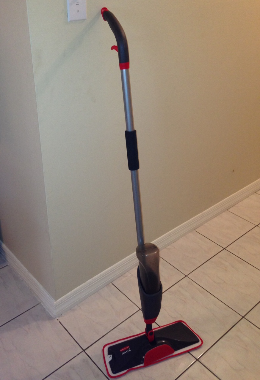 Rubbermaid Reveal Spray Mop Review And Giveaway Who Said