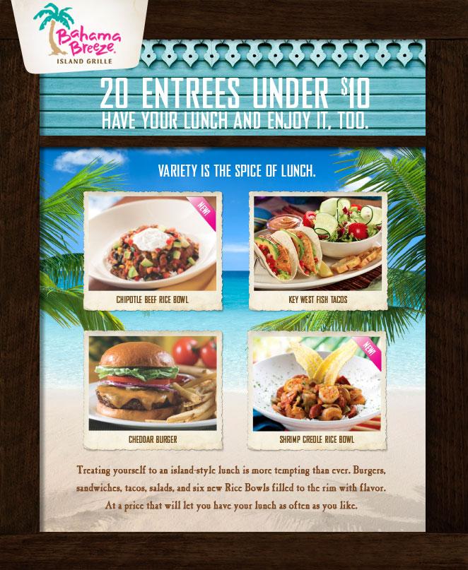 Bahama breeze coupons retailmenot