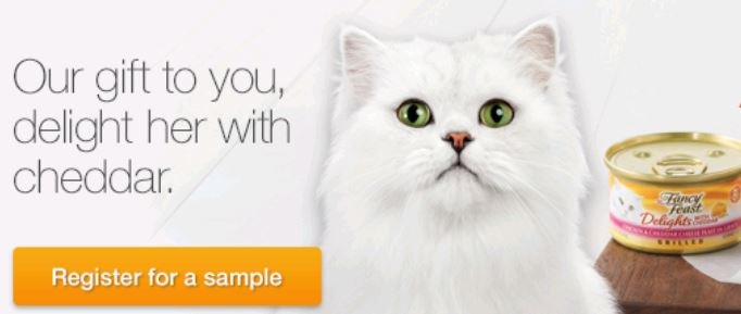 Free Sample of Purina Fancy Feast Cat Food - Who Said Nothing in ...