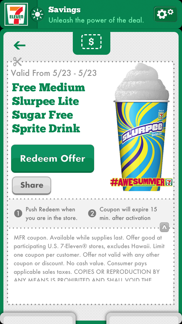 7 eleven mobile coupons
