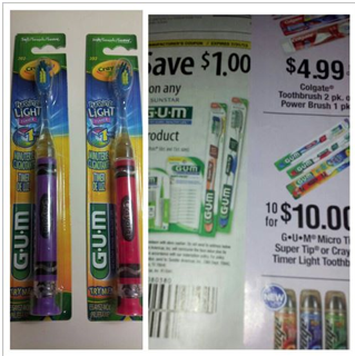 GUM-toothbrushes