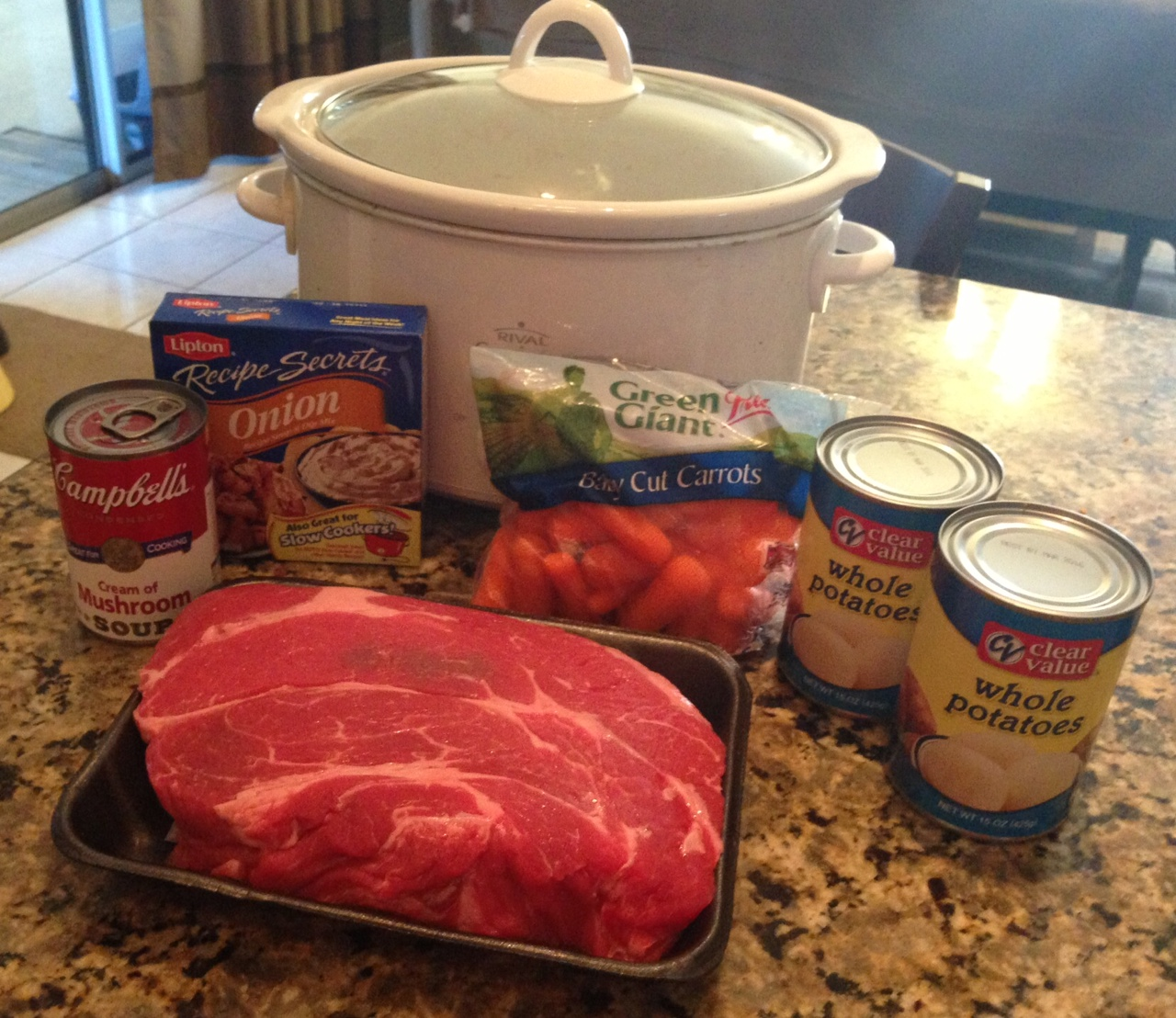 Crockpot Pot Roast Recipe Using Lipton Onion Soup Mix
