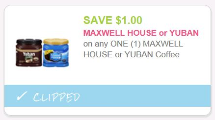 maxwell house coupons 2019