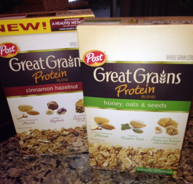 Giveaway: Post Great Grains Protein Blend Cereals Makes