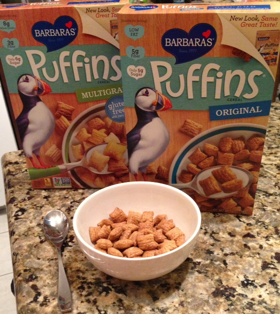 Barbara's Puffins Cereal Review And Giveaway
