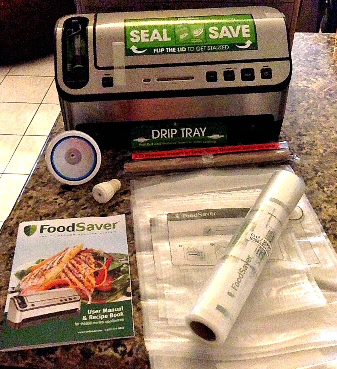 New Food Saver 2 In 1 System Who Said Nothing In Life Is