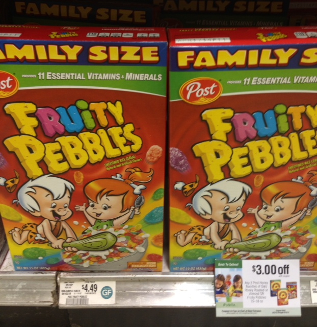 Good Deal On Fruity Pebbles At Publix