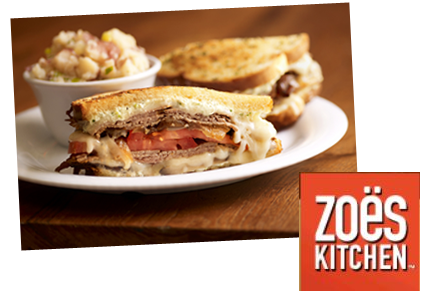 Giveaway 25 Gift Card To Zoe S Kitchen Fast Casual