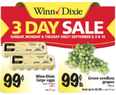 Winn dixie sale papers