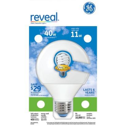 Ge coupon light bulb