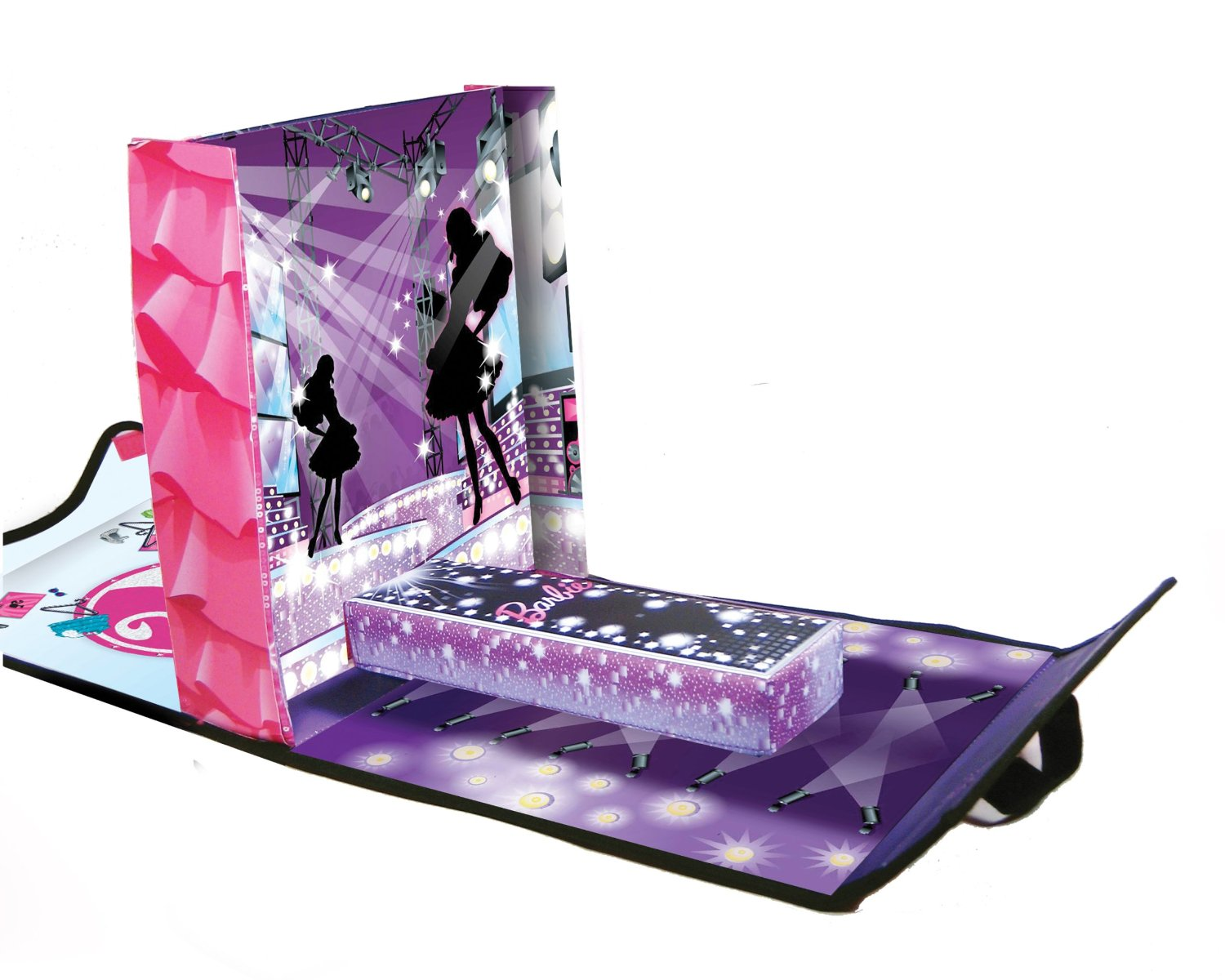 Great Deal On Barbie Neat Oh Fashion Show Dressing Room Runway Case Who Said Nothing In