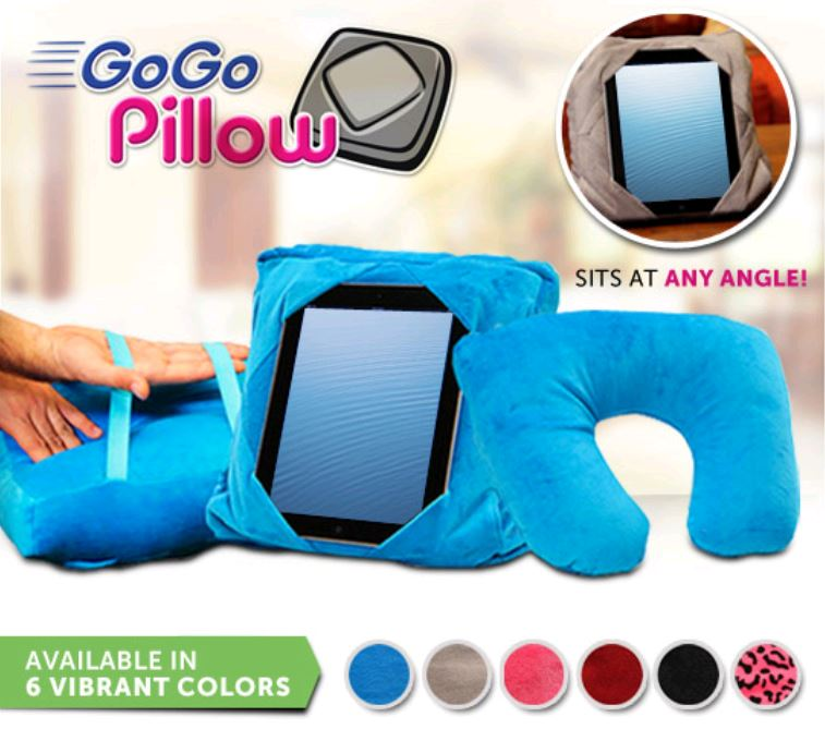 3 In 1 Multifunctional Travel Pillow Gogo Pillow Ipad